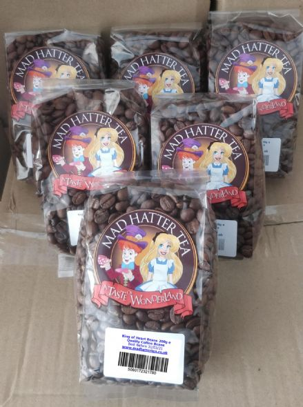 King of Hearts Coffee Beans 6x200g